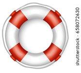 lifebuoy | Shutterstock .eps vector #658072630