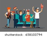 Vector Flat Illustration Peopl...