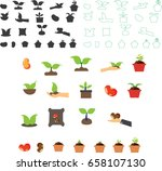 seed icon | Shutterstock .eps vector #658107130