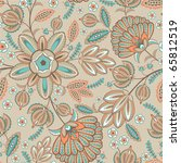 seamless retro pattern | Shutterstock .eps vector #65812519