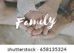 family parentage home love... | Shutterstock . vector #658135324