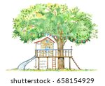 Tree House For Kids.swing ...