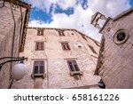 sibenik  croatia may 26 2017 ...   Shutterstock . vector #658161226