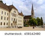 vaduz  liechtenstein   june 02  ... | Shutterstock . vector #658162480