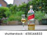 belgium  june 12  2017 johnnie... | Shutterstock . vector #658166833