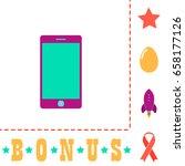 smartphone icon illustration....