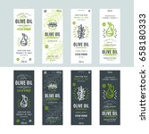 set of templates label for... | Shutterstock .eps vector #658180333