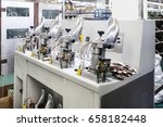 machines and equipment of the... | Shutterstock . vector #658182448