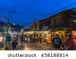 mae hong son  thailand  ... | Shutterstock . vector #658188814
