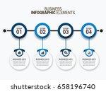 modern infographic options... | Shutterstock .eps vector #658196740