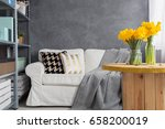 modern and cosy idea for a... | Shutterstock . vector #658200019