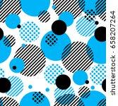 abstract vector geometric... | Shutterstock .eps vector #658207264