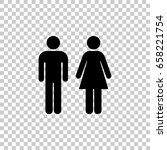 man and woman icon isolated on...