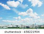 encouraging asian woman | Shutterstock . vector #658221904