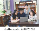 asian student education   asian ... | Shutterstock . vector #658223740