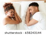 picture of sleeping young... | Shutterstock . vector #658243144