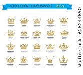 vector collection of creative... | Shutterstock .eps vector #658244890