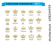 vector collection of creative... | Shutterstock .eps vector #658244959