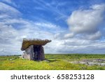 Poulnabrone Dolmen Tomb  The...