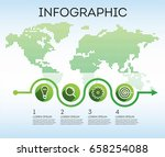 business infographics.... | Shutterstock .eps vector #658254088