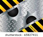 metallic cogwheel design | Shutterstock .eps vector #65827411