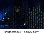 hacker stealing  data in