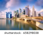 vibrant panorama background of... | Shutterstock . vector #658298038
