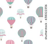 baby shower seamless pattern... | Shutterstock .eps vector #658322356