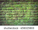 stone wall background. a wall... | Shutterstock . vector #658325803