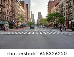 new york city   october 03 ... | Shutterstock . vector #658326250