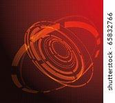abstract vector technology...   Shutterstock .eps vector #65832766