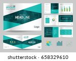 business brochure design... | Shutterstock .eps vector #658329610