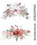 flower bouquet | Shutterstock . vector #658339960