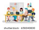 stock vector illustration... | Shutterstock .eps vector #658340830