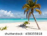 north beach in isla mujeres ... | Shutterstock . vector #658355818