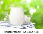 milk and green space | Shutterstock . vector #658365718