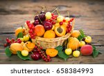Fresh Summer Fruits In The...