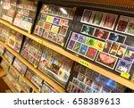 vaduz  liechtenstein   june 02  ... | Shutterstock . vector #658389613