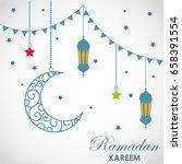ramadan kareem background | Shutterstock .eps vector #658391554