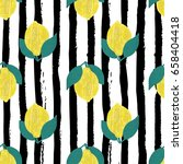 a vector seamless pattern  with ... | Shutterstock .eps vector #658404418