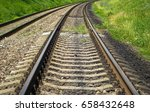 railways and railroad tracks | Shutterstock . vector #658432648