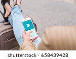 jyvaskyla  finland   june 12 ... | Shutterstock . vector #658439428