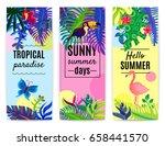 Tropical Paradise Summer...