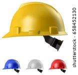 3d safety helmet | Shutterstock .eps vector #658452130