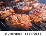 Grilled Chicken Thigh On The...