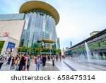 Small photo of Bangkok, Thailand - May 4, 2017: Shoppers visit Siam Paragon mall in Siam Square mall on in Bangkok, Thailand. With 300,000 m 2 of retail space Siam Paragon is one of the largest malls in the world.