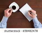 positive goal setting ... | Shutterstock . vector #658482478