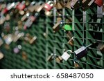 Close Up Of A Large Number Of...