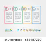 collection of vector... | Shutterstock .eps vector #658487290