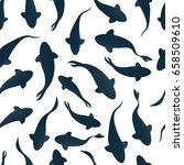 Seamless Pattern With Fish...